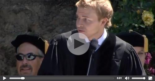 Watch Ronan Farrow's Captivating Commencement Speech >>
