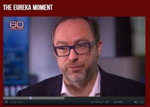 <p>View Jimmy Wales on 60 Minutes</p>