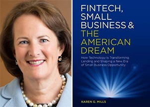 <p>Karen Mills explores how technology is transforming business and lending </p>