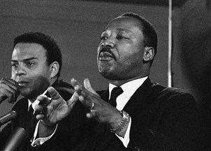 <p>Andrew Young made an impact this Black History Month</p>