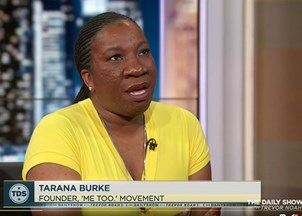 <p>Tarana Burke in the news</p>
