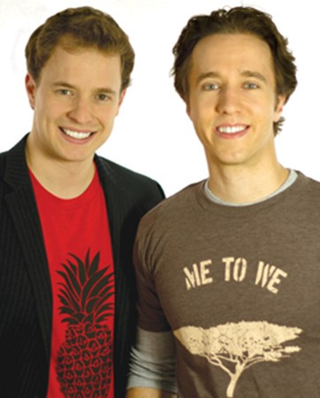 Marc & Craig  Kielburger headshot