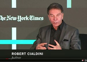 <p>Robert Cialdini in the news</p>
