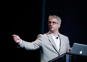 <p>Nicholas Christakis inspires tweets of praise at every event</p>