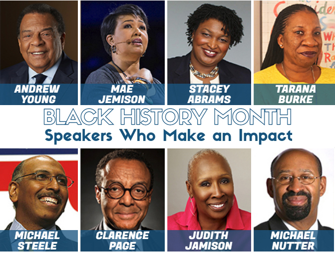 Black History Month Speakers Who Make An Impact