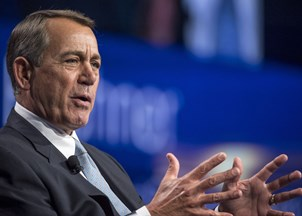 <p>John Boehner is in-demand for energy sector events</p>