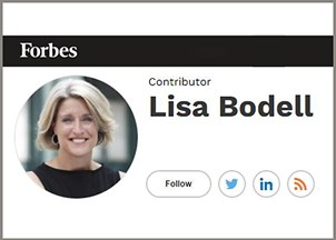 <p>Lisa Bodell, Forbes contributor</p>