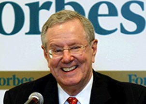 <p>Steve Forbes, frequent contributor on Fox</p>