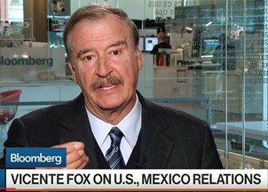 <p>Vicente Fox in the news</p>