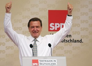 <p>Gerhard Schroeder is a power player of the oil and gas industries</p>
