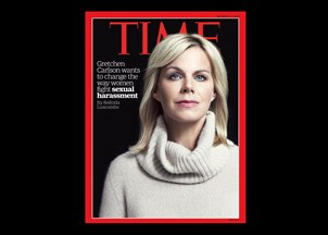 <p>Gretchen Carlson on the cover of <em>Time</em> magazine: Gretchen Carlson's Next Fight</p>