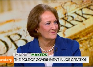 <p>Harvard Senior Fellow Karen Mills applauds appointment to SBA</p>