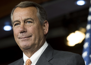 <p>Speaker Boehner on texting with Trump and working with Trump's team</p>