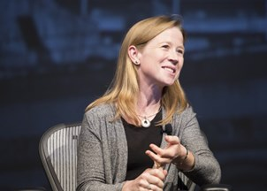 <p>April Rinne Decodes the Sharing Economy for Audience of CEOs and Execs</p>