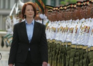 <p>Julia Gillard appointed highest civilian honor in Australia for her pioneering policy work</p>