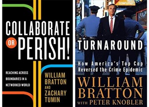 <p>Two books from Commissioner Bratton reveal his transformative leadership style</p>