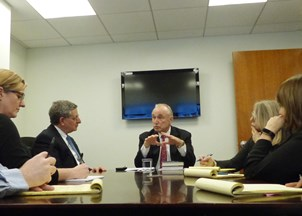 <p><strong>Commissioner Bratton shares key tips on leadership style with HWA </strong></p>