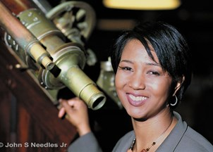 <p>Mae Jemison kicks-off Black History Month speaker series in front of a packed house</p>
