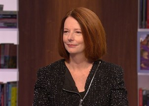 <p>Julia Gillard addresses 2,000 attendees at Canada's foremost women's lecture series</p>