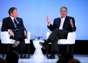 <p><strong>Speaker Boehner delivers address at high-profile Global Financial Leadership Conference </strong></p>