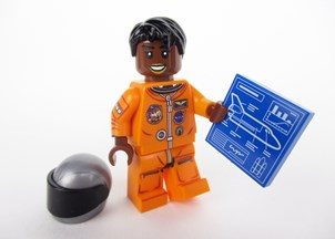 <p>Pioneering astronaut Mae Jemison receives her own LEGO </p>