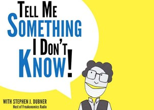 <p>Stephen Dubner of <em>Freakonomics</em> fame hosts smash hit podcast</p>