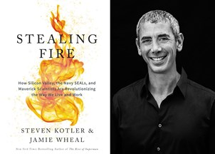 <p>Steven Kotler's <em>Stealing Fire</em> named top business book every entrepreneur should read</p>