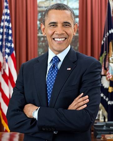 President Barack Obama headshot