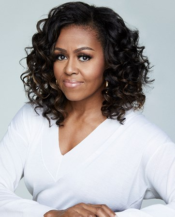 Former First Lady Michelle Obama headshot