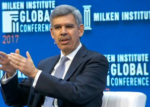 <p>Mohamed El-Erian's sharp insights at Milken Institute Global Conference make headlines</p>