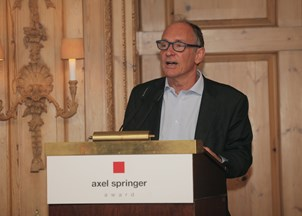 <p>An Evening for Sir Tim Berners-Lee held in honor of World Wide Web inventor</p>