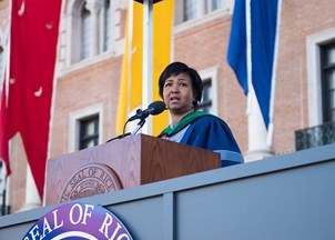 <p>Mae Jemison's Commencement Address inspires a Twitter hashtag</p>