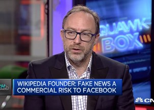 <p>Jimmy Wales sought-out for key insights on CNBC, Mashable, more</p>