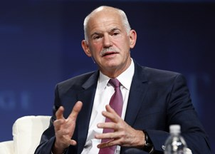 <p>George Papandreou discusses One Belt One Road in China</p>