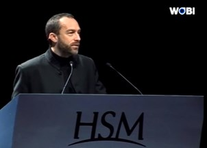 <p>Jimmy Wales has audiences raving (and tweeting) at the World Business Forum Sydney</p>