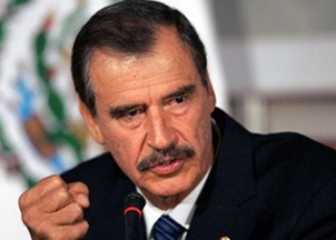 <p>Vicente Fox honored in Global Officials of Dignity Awards at the United Nations</p>
