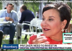 <p>Penny Pritzker talks future of work and trade at Fortune Brainstorm Tech Conference </p>