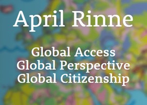 <p>April Rinne's website is the hot spot for timely insights on the new economy and global citizenship</p>
