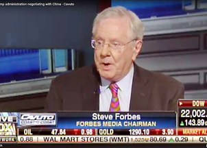<p>Steve Forbes in the News</p>