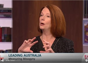 <p>Julia Gillard in the News</p>