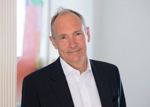 <p>Sir Tim Berners-Lee honored for his lifetime commitment to technology innovation</p>