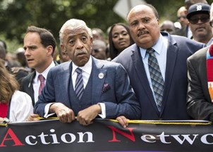 <p><strong>Marin Luther King III calls for justice during historic march on Washington </strong></p>
