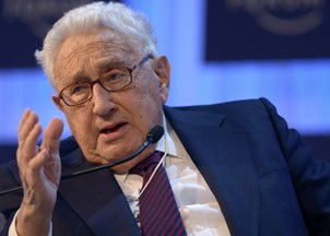 <p>Henry Kissinger In the News</p>
