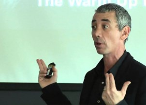 <p>Steven Kotler receives rave reviews at Young President's Organization in Costa Rica</p>