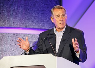 <p>John Boehner is a go-to voice on the future political landscape</p>