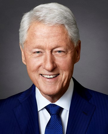 President Bill Clinton headshot