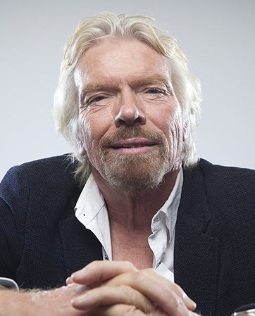 Sir Richard Branson headshot