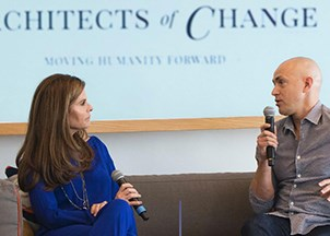 <p>Maria Shriver's Architects of Change is a conversation series with a purpose</p>