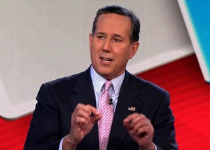 <p>Rick Santorum is a top voice on politics in the U.S. </p>