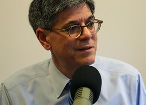 <p>Jack Lew sought-out for insights into global economy by <em>Politico</em></p>
